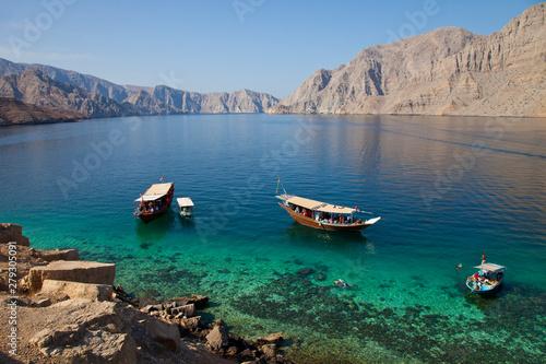 Fototapeta  Península de Musandam, Oman, Golfo Pérsico