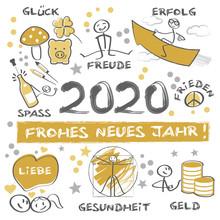 Frohes Neues Jahr 2020 - Neuja...