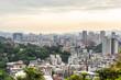 View of the city of Taipei