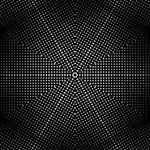 Abstract Halftone Psychedelic ...