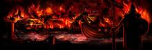 Viking Invasion Banner/Illustr...