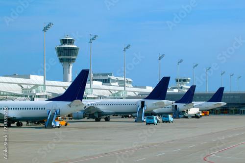 Fotografie, Tablou Flughafen München