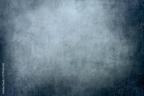 Fotografía  blue colored canvas background or texture