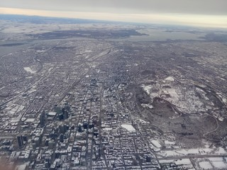Aerial view of Montreal, Quebec