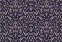 Art Deco Seamless Pattern. Abs...