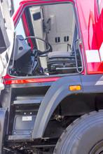 Cab Fire Engine Close-up