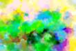 Leinwanddruck Bild - Abstract powder splatted background.
