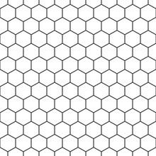 Hexagon Seamless Pattern Background