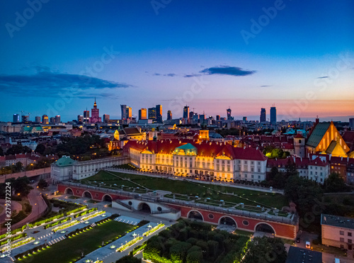 Fototapeta Warszawa Stare Miasto obraz