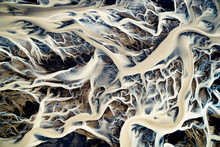 Aerial View Of The Icelandic G...