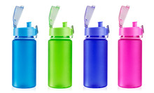 Multicolored Bottles For Water