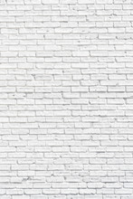 White Brick Wall With Shadows,...