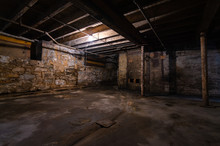 Grungy Warehouse Basement