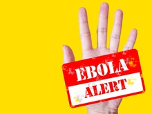 Hand Alert About Ebola Outbreak. World Health Organization(WHO) Had Declared Global Health Emergency Outbreak In The Past. Ebola Virus Disease(EVD) Cause Hemorrhagic Fever(EHF)that High Risk Of Death.