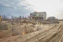 Large Vacant Home On A Sand Du...