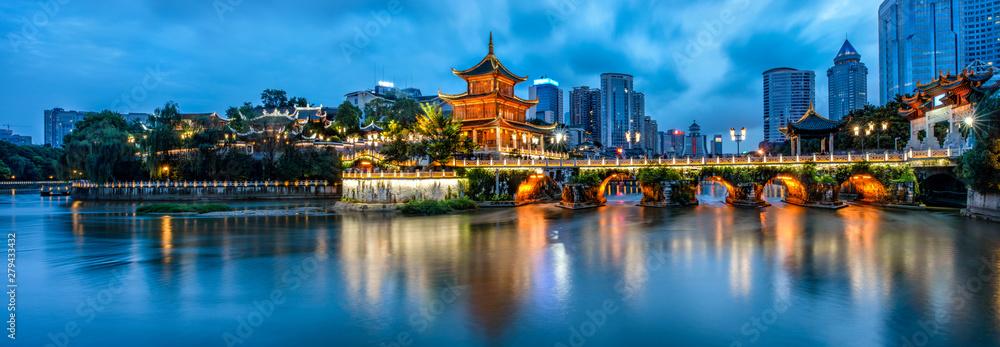 Fototapety, obrazy: Guiyang of China
