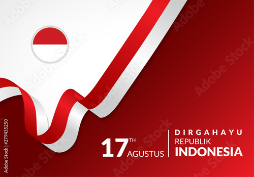 Fotografia  17 August 1945, Happy Indonesia Independent Day