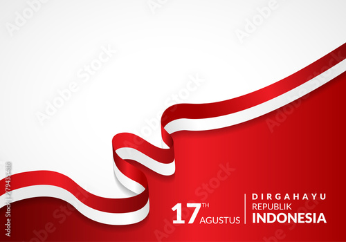 Papel de parede  17 August 1945, Happy Indonesia Independent Day