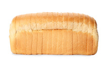 Sliced Loaf Of Wheat Bread Iso...