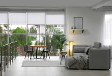 Cozy Living Room With Modern Furniture And Stylish Decor. Ideas For Interior