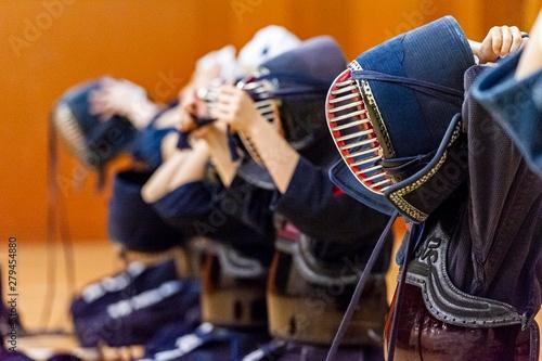 Fotografie, Tablou  日本の武術競技剣道