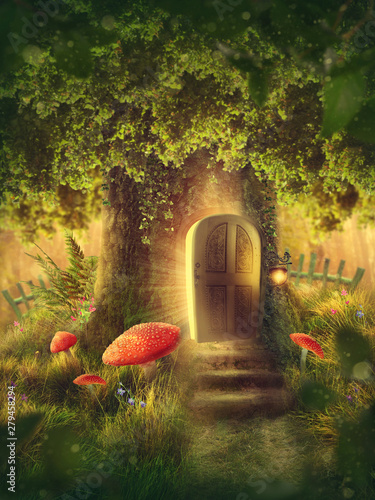 Magic tree house Tableau sur Toile