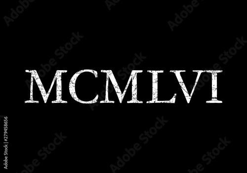 Fényképezés MCMLVI 1956 Roman (Ancient White)