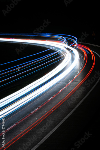 lights of cars with night #279460838