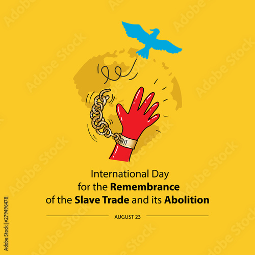 International Day for the Remembrance of the Slave Trade and its Abolition Wallpaper Mural
