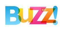 BUZZ! Colorful Vector Typograp...