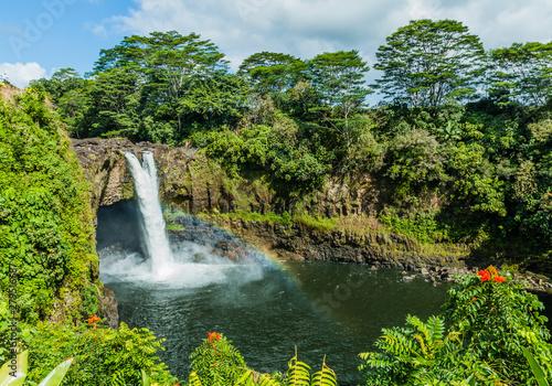 Recess Fitting Waterfalls Hawaii, Hilo.