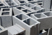 Concrete Cinder Blocks, Constr...
