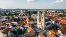 Aerial View Of Wiener Neustadt...