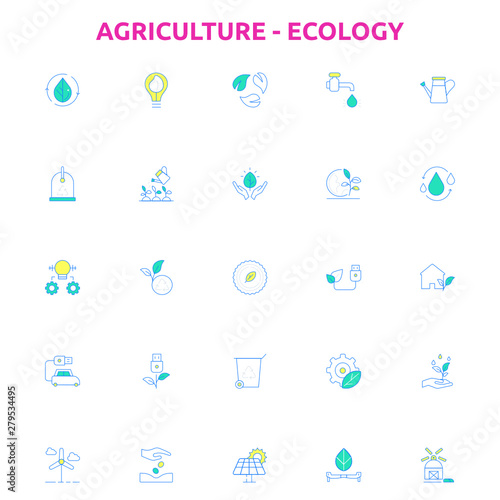 Ecology Agriculture Canvas Print