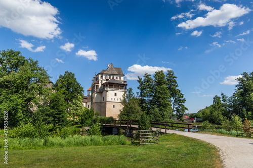 Obraz na plátně  Blatna chateau, Czech Republic