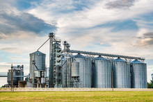 Agro-processing Plant For Processing And Silos For Drying Cleaning And Storage Of Agricultural Products, Flour, Cereals And Grain