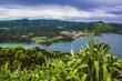 """View over """"Lagoa das Sete Cidades"""", Sao Miguel Island, Azores, Portugal"""