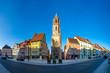 canvas print picture - Kapellenturm, Panorama, Rottweil, Deutschland