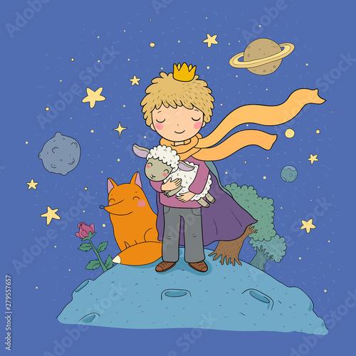 Obraz na plátně The Little Prince
