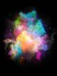 canvas print picture - Computing Color Space