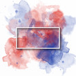 splash watercolor banner, used for banner, template, invitation or any decoration. vector illustration.