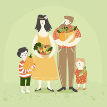 Happy Family Shopping Eco Cons...