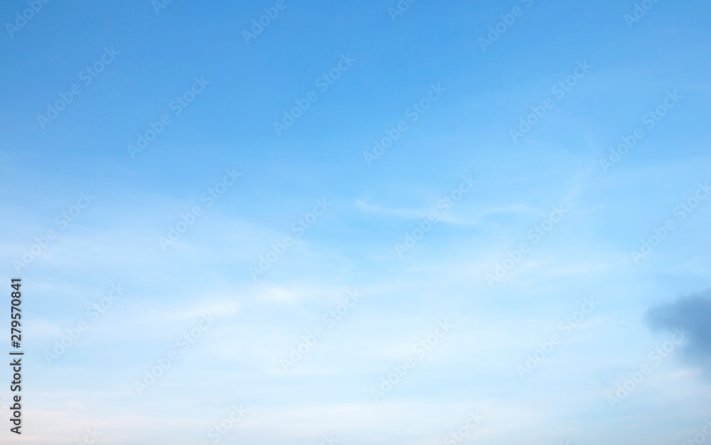 Fototapety, obrazy: Air clouds in the blue sky background