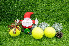 Merry Christmas To Tennis Play...