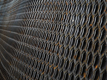 Expanded Metal Surface. Expanded Metal Sheet For Use In Construction
