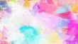 lavender, neon fuchsia and medium turquoise color brushed painting. artistic artwork for use as background, texture or design element