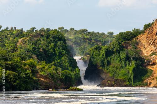 Pinturas sobre lienzo  Murchison Falls in Uganda