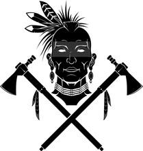 Native Indian Tomahawk
