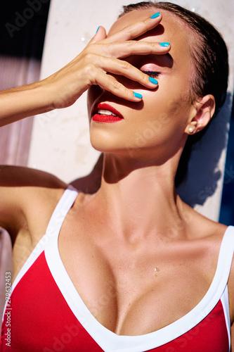 Fotografie, Obraz  Sunstroke or suntan