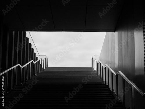 In de dag Trappen Stufen